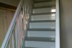 Schilderen houten trappen